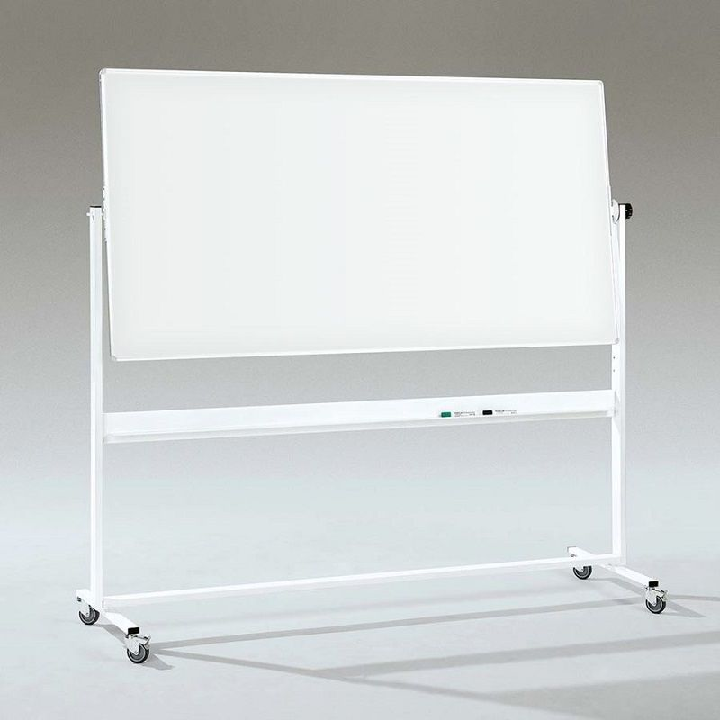 Whiteboard på hjul Dubbel, lackerad, B 1500 x H 1000 mm Gerdmans Fri Frakt 7års Garanti