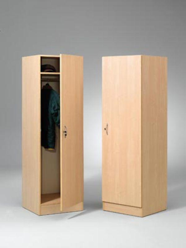 Gerdmans garderobe hxbxd 2000 x 600 x 600 mm hvit gerdmans for Garderobe 600