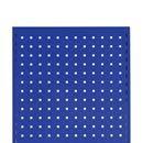 Verktygstavla, gavel till Lagerhylla Gerdmanshyllan, DxH 500x2500 mm, blå