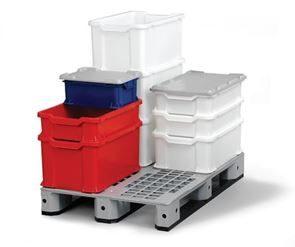 Bilde av Plastboks, Uniback, kan stables, volum 14-54 liter