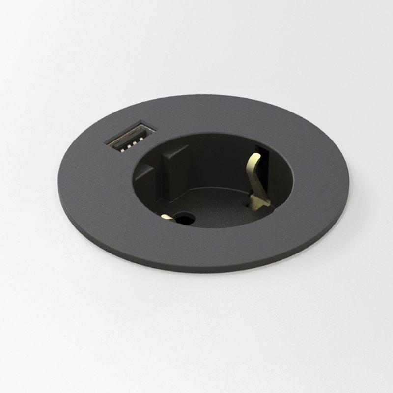 Powerdot El, Data, USB laddare, Vit Kondator AB Aktiv