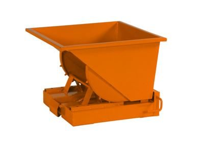 Tippcontainer Argos 150 L, LxBxH 815x760x580 mm, orange
