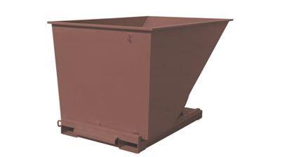 Tippcontainer Argos 2000 L, LxBxH 2073x1316x1248 mm, brun