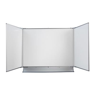 Whiteboard Lygne, vegghengt, 3-delt