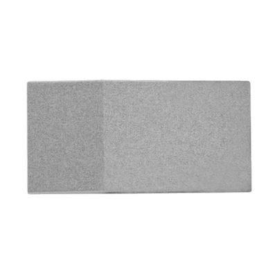 Lydabsorbent Triline Wall, inkl. beslag, LxBxD 400x800x95 mm, lysegrå