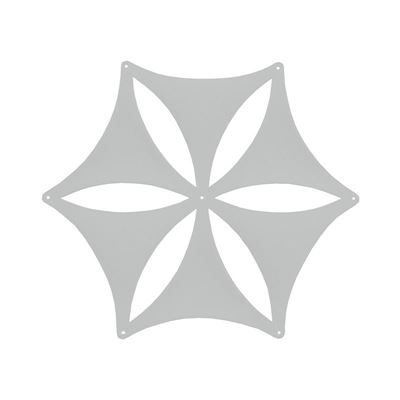 Ljudabsorbent Airflake Blade, ljusgrå, 3 st/fp