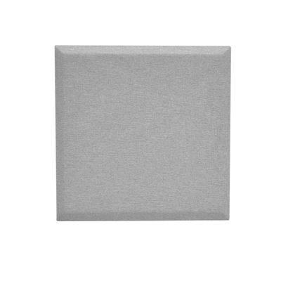 Väggabsorbent Domo, kvadratisk, LxB 1200x1200x34 mm, ljusgrå